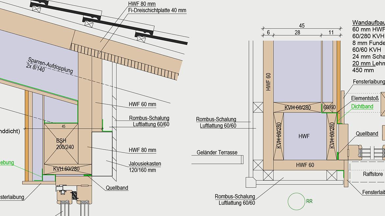 Werkplan Holzbau